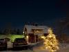 Hus i vinterkyla