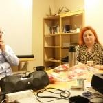 Ordförande Tommy Stokka och jury Ma Lou Skoglund