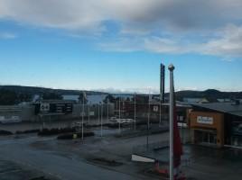 Utsikt från fika/mat-platsen