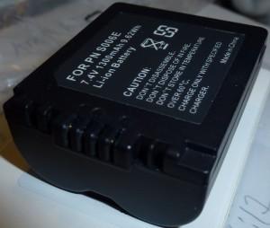 Batteri för Panasonic Lumix CGA-S006E CGA-S006A/1B DMW-BMA7 DMC-FZ50 FZ30 FZ28