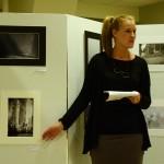 Johanna Syrén pratar bild, Fotograf Börje Norfelt