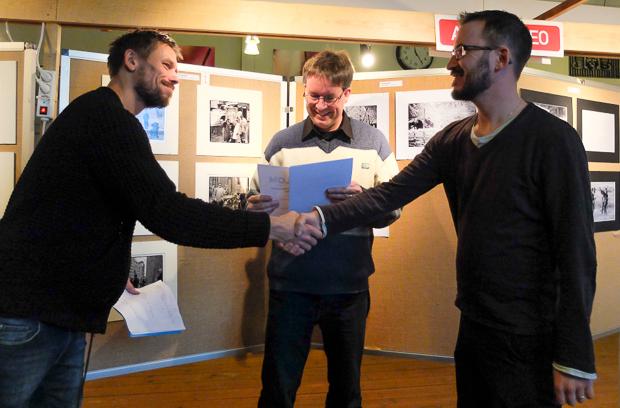 Mattias Olsson, fjärde plats i Hälsingemästerskapet Svart påsikt