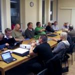 Deltagarna från mötet