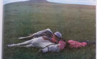 Horse training för the militia/Inner Mongolia.